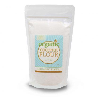 500 gram bag of Organic Times Coconut Flour