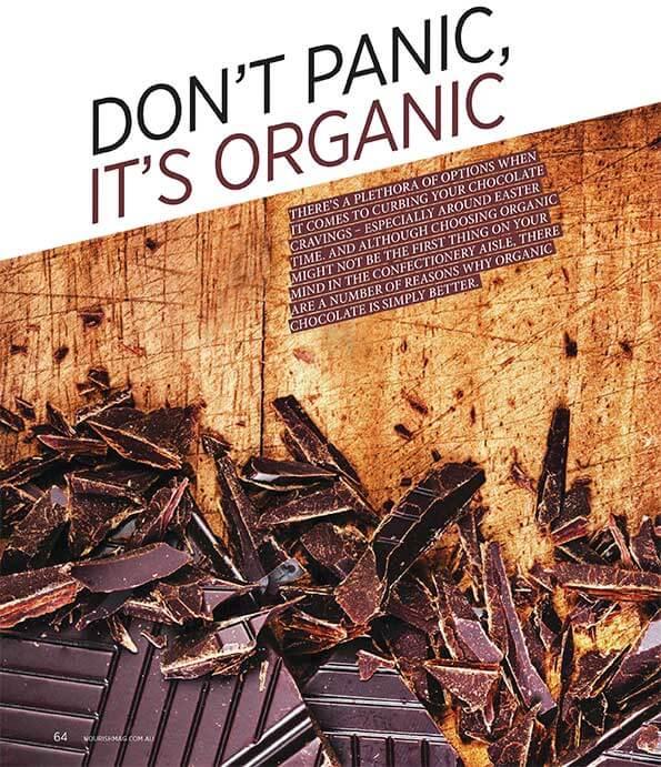 Nourish Magazine Chocolate Photo