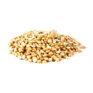 organic yellow split peas