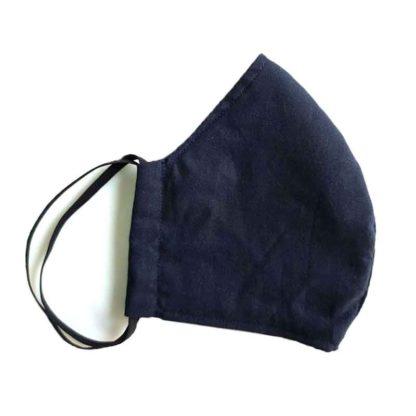 organic-cotton-face-mask-plain-navy-blue
