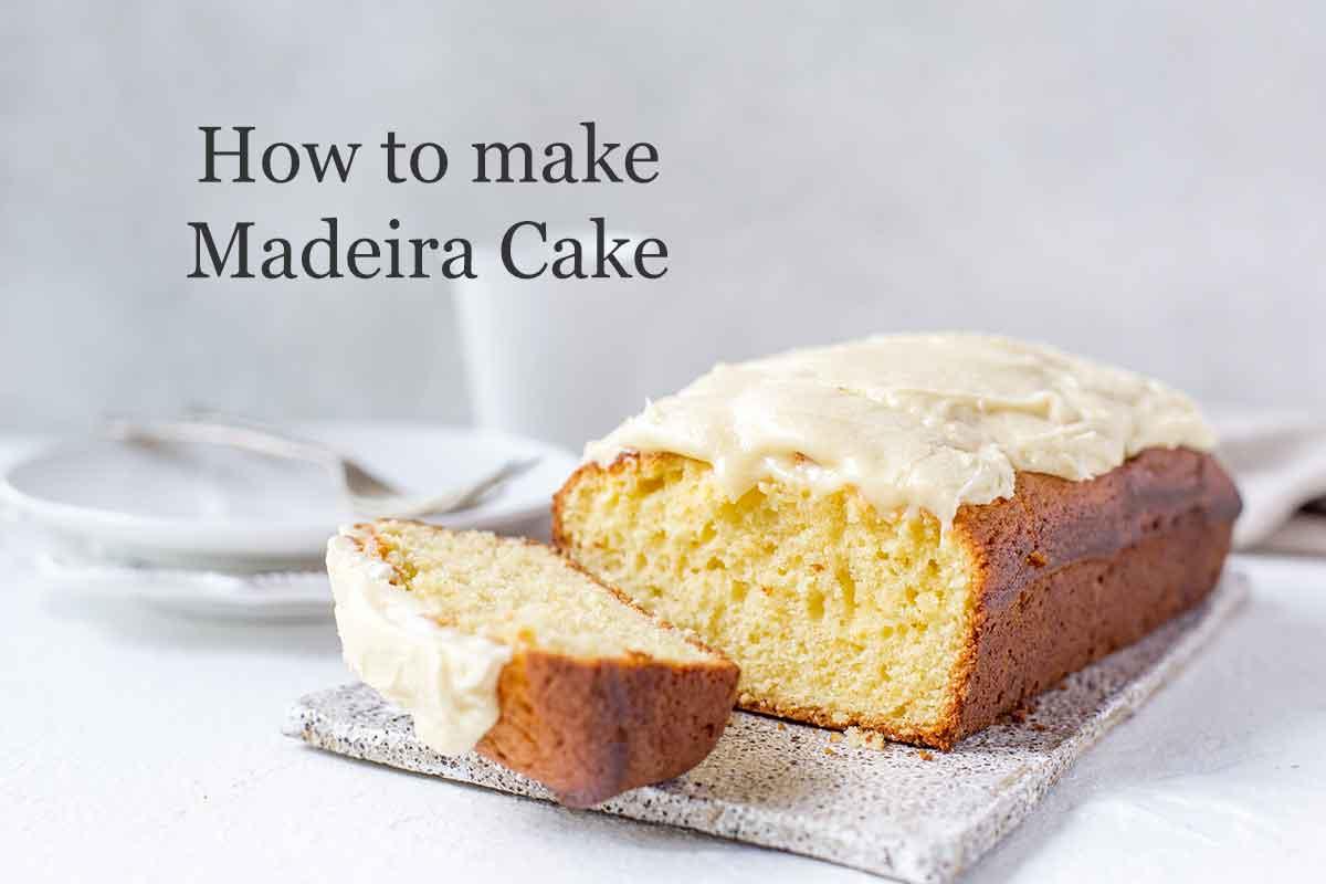 how to make madeira cake video