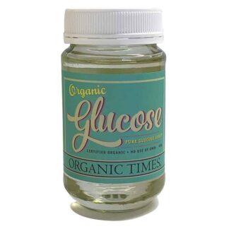 a jar of Organic Times Glucose Syrup