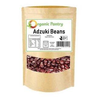 500 gram bag of organic adzuki beans