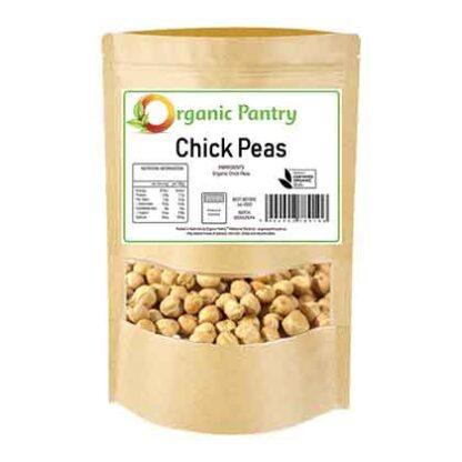 500 gram bag of organic chickpeas
